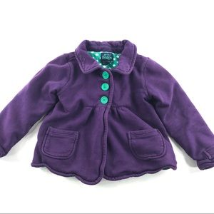 Mini Boden Girls Purple Jacket 5 6 Years